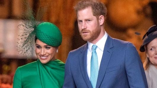 Prinz Harry und seine Frau Meghan Markle.