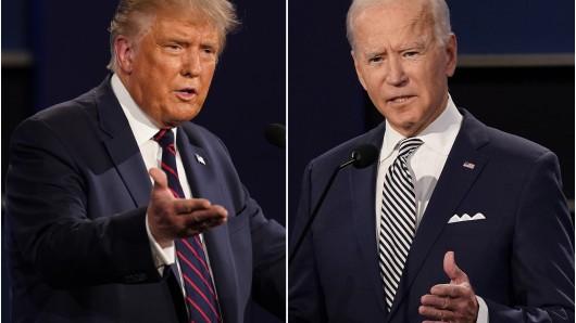 US-Wahl: Wer wählte Joe Biden, wer Donald Trump? (Symbolbild)
