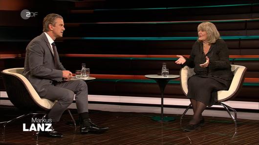 Zoff in der Show! Markus Lanz und Alice Schwarzer sind in der ZDF-Show aneinander geraten.