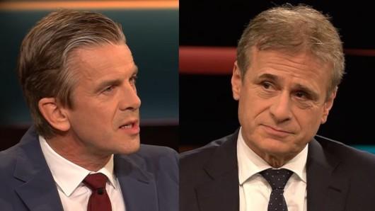 Virologe Professor Alexander Kekulé bei Markus Lanz (ZDF-Talkshow).