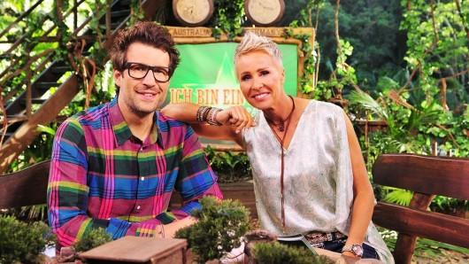 Sonja Zietlow und Daniel Hartwich, Moderatoren der RTL-Show Ich bin ein Star - Holt mich hier raus!