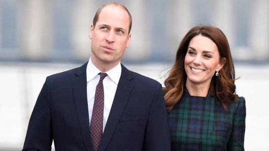 Ein vertrautes Paar: Prinz William und seine Ehefrau Kate Middleton.