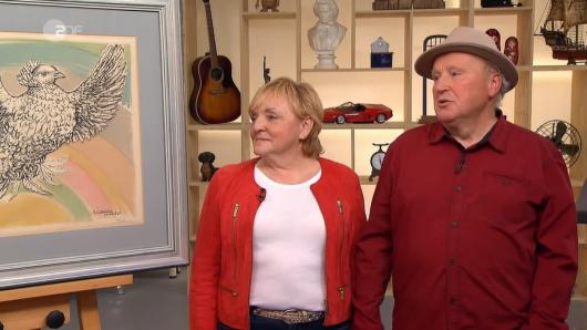 Annegret und Wolfgang besitzen einen echten Picasso - und der ist eigentlich noch viel mehr wert, als sie ahnen.