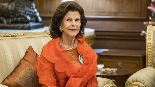 Königin Silvia von Schweden hatte einen Unfall.
