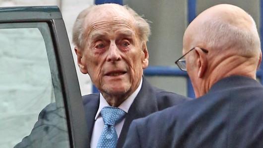 Prinz Philip wurde am Dienstagabend in ein Londoner Krankenhaus gebracht. (Archivbild)