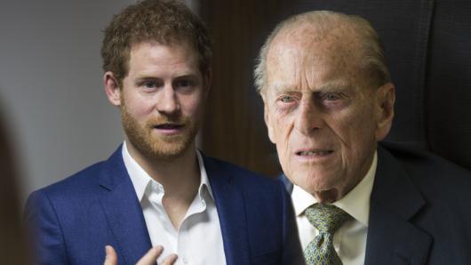 Prinz Harry verrät, wie wichtig Prinz Philip für die Briten ist.