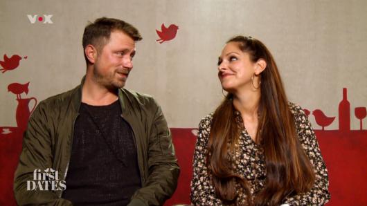 First Dates: Roland und Lisa.