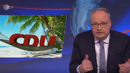 """Am Freitag lässt Moderator Oliver Welke in der """"Heute Show"""" (ZDF) kein gutes Haar an der CDU."""