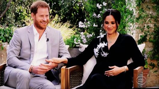 Bisher sind nicht alle Szenen aus dem skandalösen Interview von Prinz Harry und Meghan Markle veröffentlicht worden.