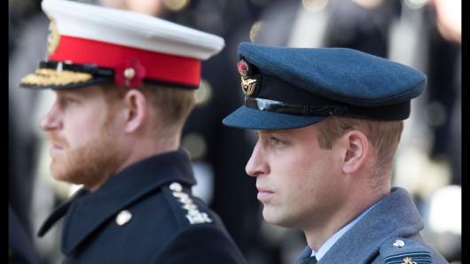 Prinz William und Prinz Harry. (Archivfoto)