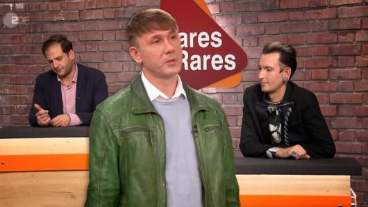 """""""Bares für Rares"""": Kandidat Vadim will plötzlich doch nicht mehr an die """"Bares für Rares""""-Händler verkaufen."""