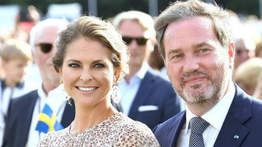Prinzessin Madeleine und Ehemann Christopher O'Neill haben freudige Nachrichten zu verkünden.