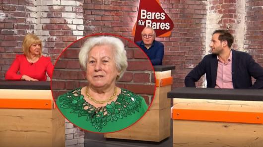 """Verkäuferin Sigrid trennt sich von einer geliebten Rarität. Die """"Bares für Rares""""-Händler scheinen jedoch nicht ganz so viel in dem Schatz zu sehen."""