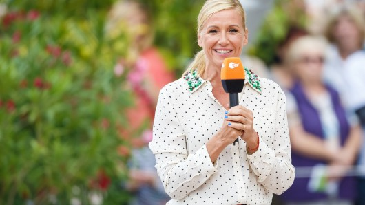 """Fernsehgarten""-Moderatorin Andrea Kiewel."