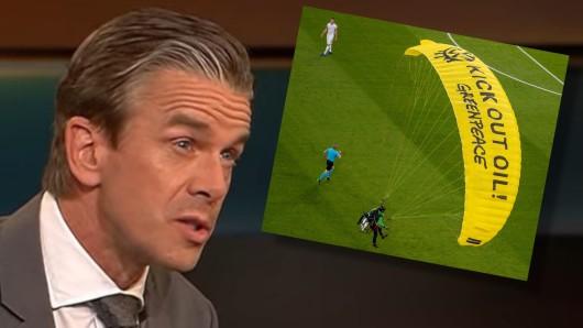 Moderator Markus Lanz nimmt sich Greenpeace vor in seiner ZDF-Talkshow.