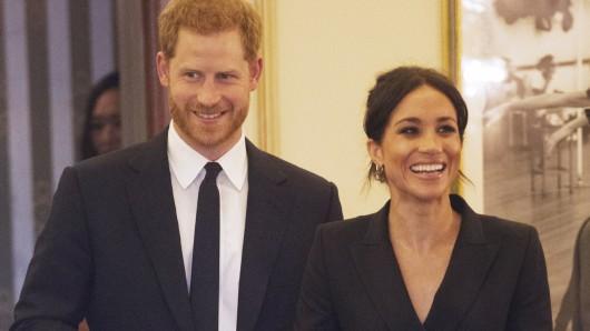 Prinz Harry und Meghan Markle werden mit einem außergewöhnlichen Preis ausgezeichnet.