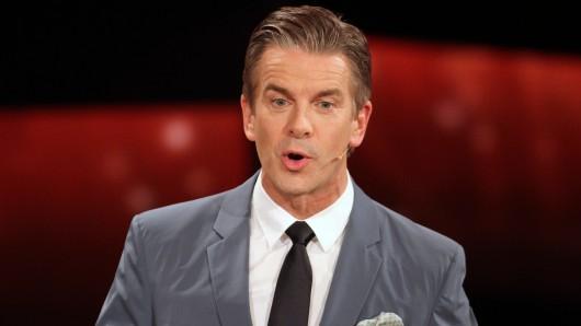ZDF-Moderator Markus Lanz ist fassungslos.