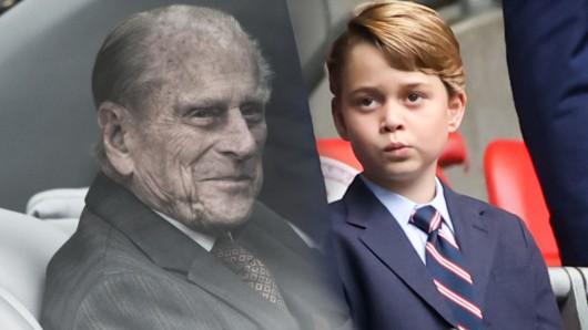 Prinz George feiert seinen achten Geburtstag – und gedenkt dabei an seinen verstorbenen Ur-Großvater Prinz Philip.