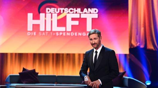 Daniel Boschmann moderierte die Sat.1 Spendengala.