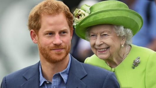Mit diesen Worten wird Prinz Harry sein Verhältnis zu Queen Elizabeth II. hoffentlich retten können.