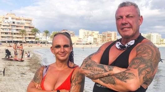 Caro Robens mit ihrem Mann Andreas Robens.