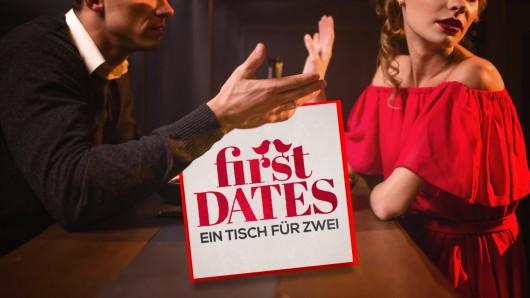 """""""First Dates""""-Kandidat Henning turnt seine Date-Partnerin Jacki mit nur wenigen Worten völlig ab. (Symbolbild)"""