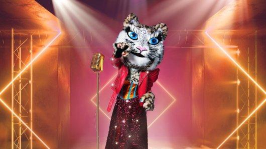"""""""Der Tiger """" tritt in der """"The Masked Singer""""-Online-Show ganz ohne Konkurrenz an."""