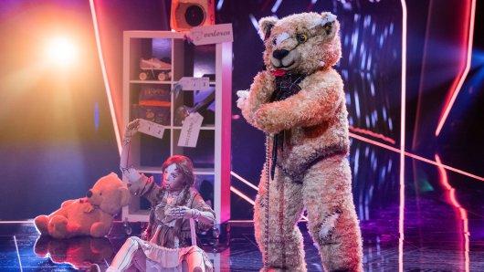 """""""Der Teddy"""" ist einer der Kandidaten bei """"The Masked Singer""""."""