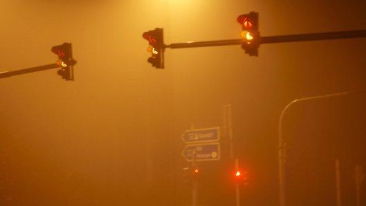 Der DEutsche Wetterdienst warnt für die Nacht zu Donnerstag vor Nebel.