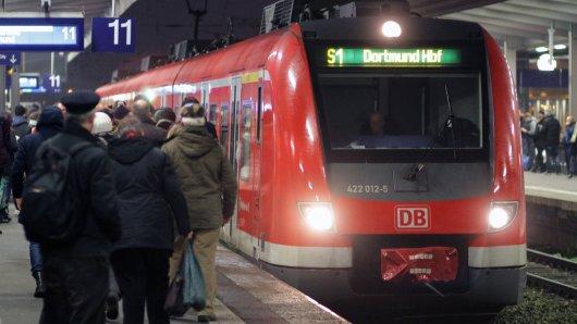 Rund um Dortmund kommt es am Sonntagabend zu einigen Zugausfällen.