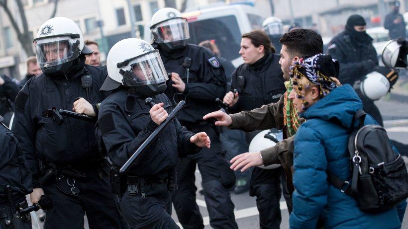 Kurden Demo In Köln