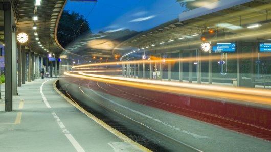 Der Hauptbahnhof in Wuppertal.