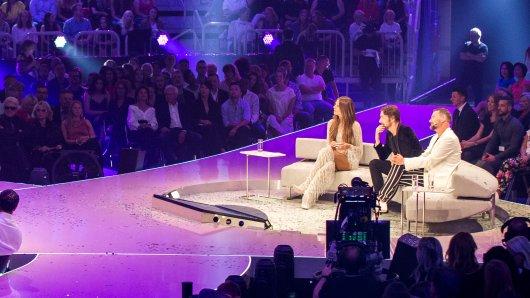 Beim Finale von Germany's Next Topmodel gab es Unruhe im Publikum.