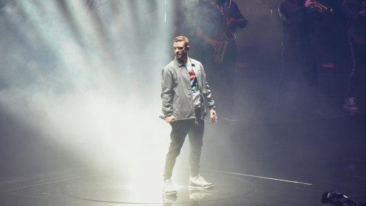 Justin Timberlake bei seinem Auftritt in der Kölner Lanxess-Arena.