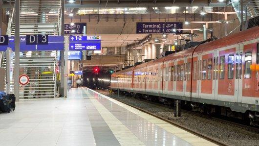 Der Bahnhof des Flughafen Köln/Bonn.
