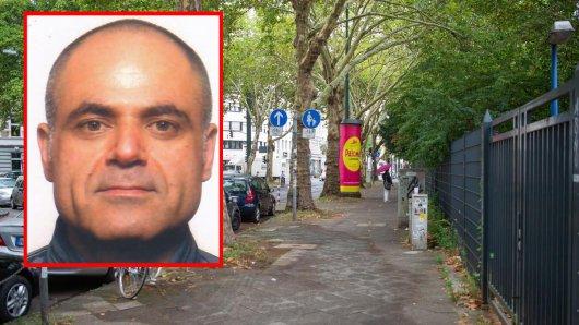 Der flüchtige Ali Akbar Shahghaleh soll in der Bachstraße am Montag eine 34-Jährige niedergestochen haben. Der Mann ist auf der Flucht.