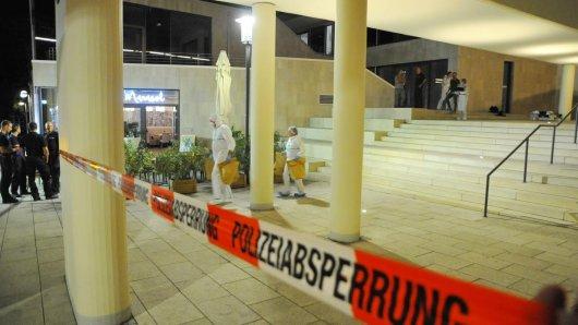 Die Leiche wurde von einem Fußgänger an der Abteistraße gefunden.