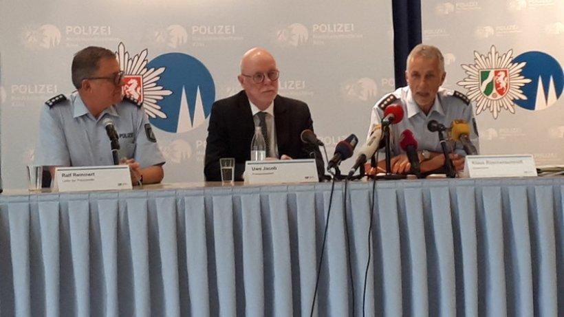 Pressekonferenz Polizei Köln