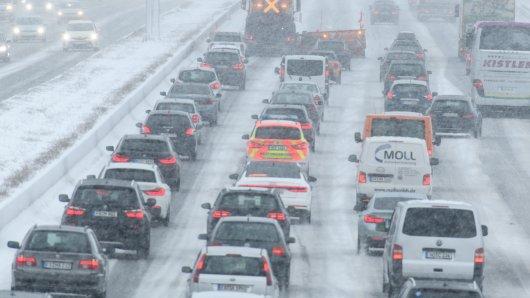 In NRW wird Schnee und Glätte erwartet.