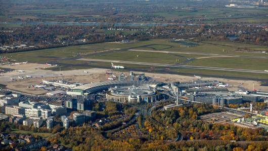 Düsseldorf ist NRWs größter Flughafen.