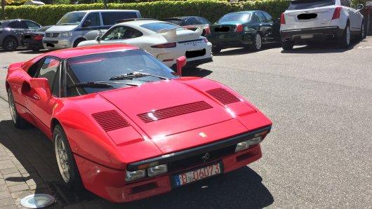 Der zwei Millionen Euro Ferrari konnte aufgefunden werden. Doch die Polizei sucht nun den mutmaßlichen Dieb.