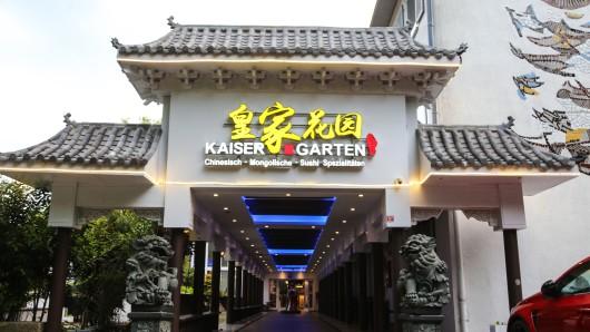 Das China-Restaurant wurde nahezu überrannt.