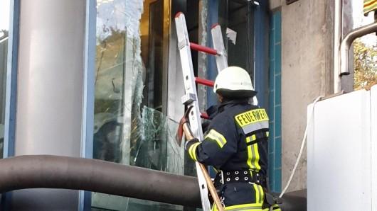 Die Feuerwehr musste die Jugendlichen in NRW befreien.
