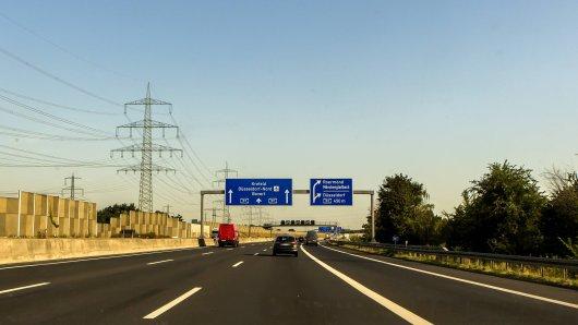 NRW: Verstörender Fund an der A57.