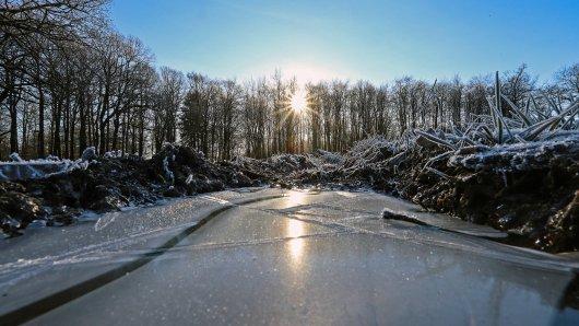 Wetter in NRW: Der Deutsche Wetterdienst warnt an diesem Wochenende vor Frost im Ruhrgebiet.