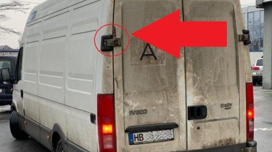 In NRW zog die Polizei diesen Transporter aus dem Verkehr.