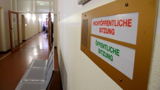 Der Prozess findet unter Ausschluss der Öffentlichkeit im Landgericht Dortmund statt. (Symbolfoto)