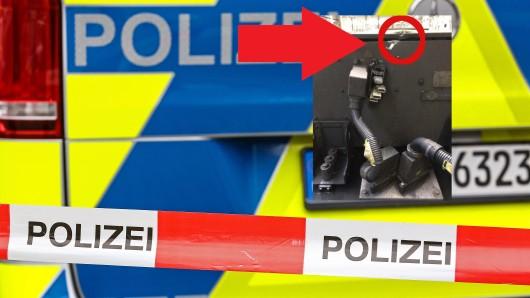 Unbekannte warfen am Wochenende in NRW einen Pflasterstein auf einen Abellio-Zug.