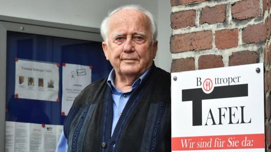 NRW: Dieter Kruse arbeitet ehrenamtlich als Chef der Bottroper Tafel.