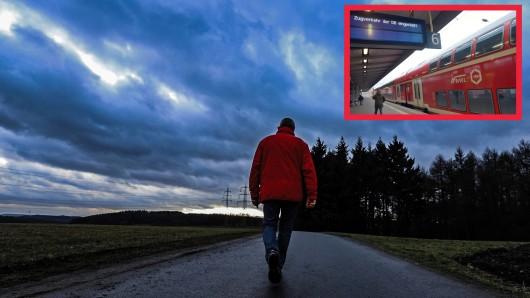 """Sturm """"Sabine"""" erreicht NRW: Reisende müssen mit Zugausfällen rechnen."""